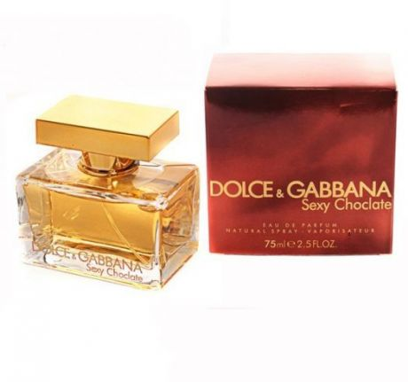 "Парфюмерная вода Dolce and Gabbana ""Sexy Chocolate"", 75 ml"