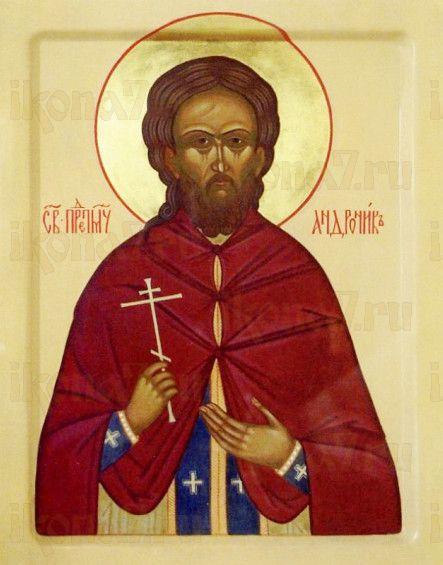 Андроник Суриков (рукописная икона)