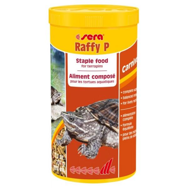 Sera Raffy основной корм для водных черепах