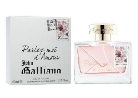 "Туалетная вода John Galliano ""Parlez-Moi d'Amour"", 80 ml"