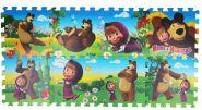 Коврик-пазл Маша и Медведь
