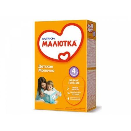 МАЛЮТКА 4 заменитель груд молока с 18мес 350г