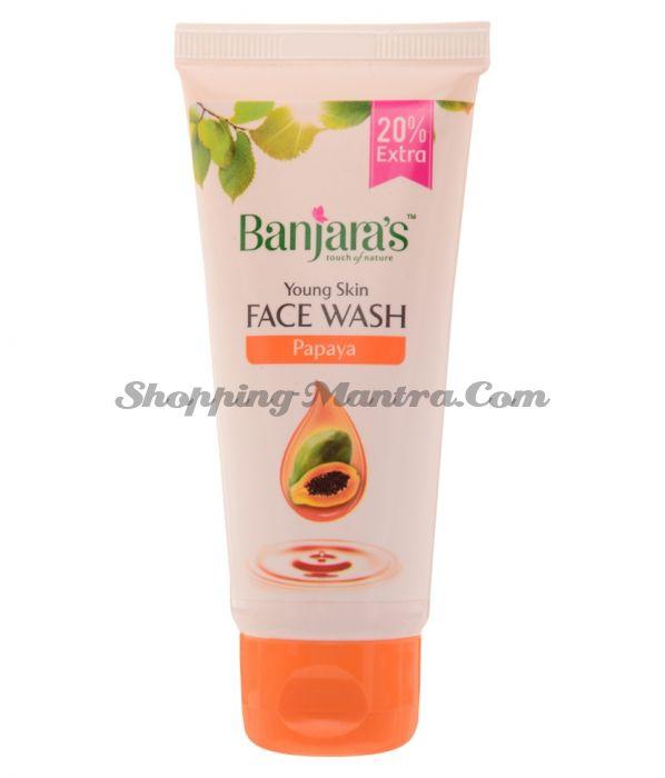 Гель для умывания Папайя Банджарас | Banjara's Papaya Face Wash