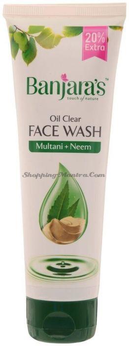 Гель для умывания Лечебная глина и Ним Банджарас | Banjara's Multani Neem Face Wash