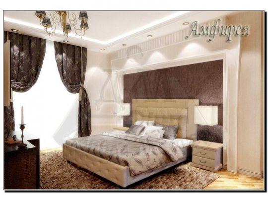 Кровать Амфирея мягкая