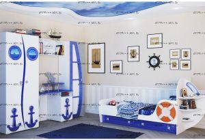 Детская комната Яхта (Парус) МДФ №2