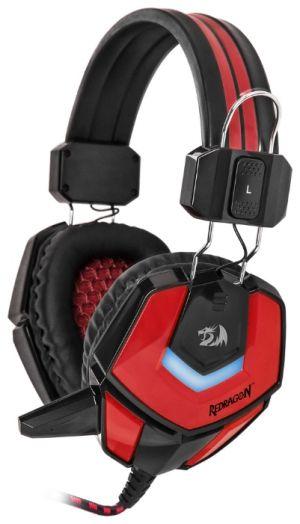 Мониторные наушники с микрофоном Игровая гарнитура Redragon Ridley (2.2 метра)