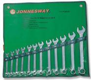W26112S Набор ключей комбинированных 8-22мм Jonnesway, 12 предметов