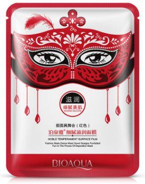 Тканевая маска для лица BioAqua Masquerade Mask в ассортименте