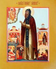 Иринарх Затворник (рукописная икона)