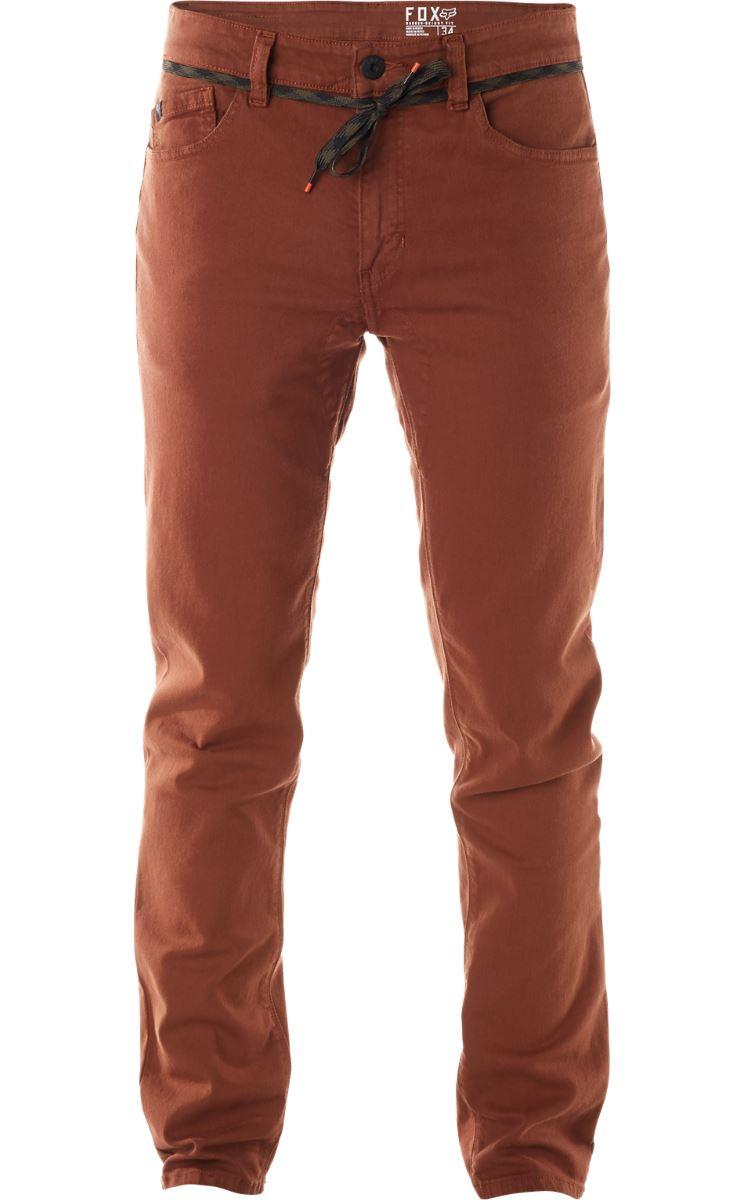 Fox - Dagger Pant Saddle джинсы, коричневые