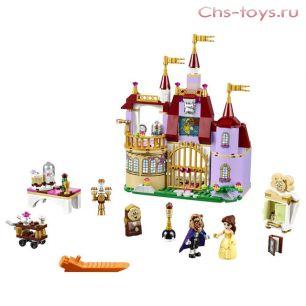 Конструктор Lari Princess Заколдованный замок Белль 10565 (41067) 376 дет
