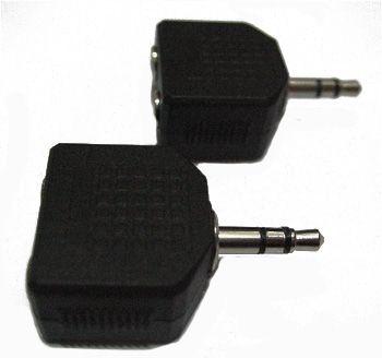 (rdtv) Переходник мини джек 3,5 мм - 2 аудио гнезда 3,5 мм стерео JETT (303-223)
