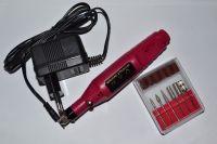 Фрезер-ручка для маникюра и педикюра (20 000 об., розовая)