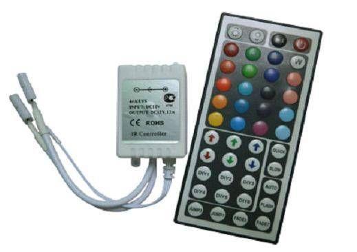 Ecola Контроллер 12V 144W 12A RGB c большим ИК пультом CRL144ESB