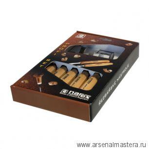 Набор из 6 резцов Standart в коробке, Narex 894720