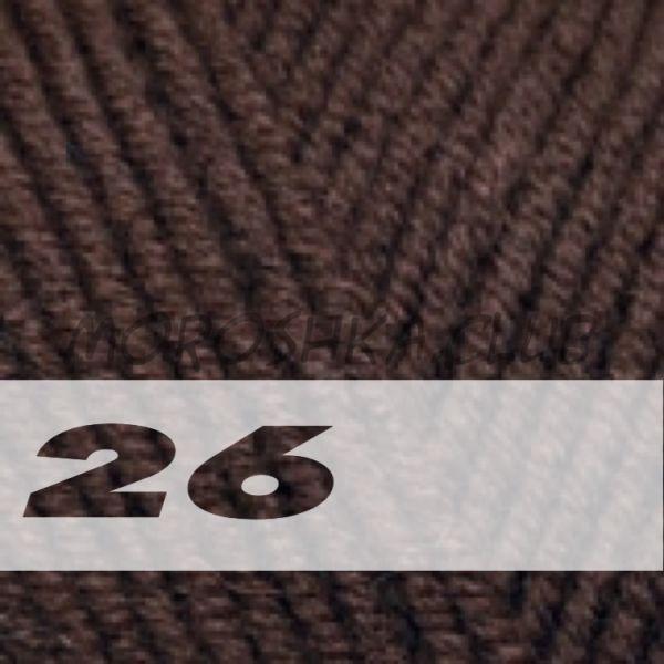 Коричневый Lanagold Alize (цвет 26)