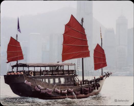 """Коврик для компьютерной мыши Defender Journey """"Hong Kong"""""""