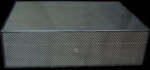 Хьюмидор Elie Bleu Carbon на 110 сигар
