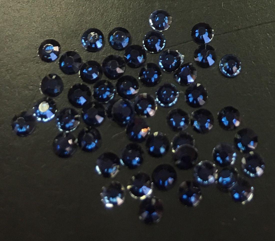 Стразы пластиковые d.2мм уп/70шт (ametist)
