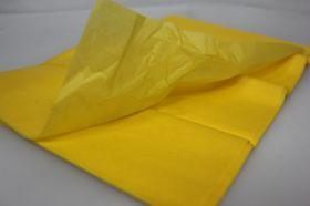Бумага 76*50 см, жёлтый, 10 лист/ уп