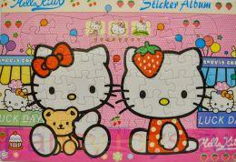 """Пазл """"Hello Kitty с зайкой"""" (48 элементов, размер 38х26 см)"""