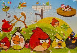 """Пазл """"Angry Birds"""", (48 элементов, размер 38х26 см)"""