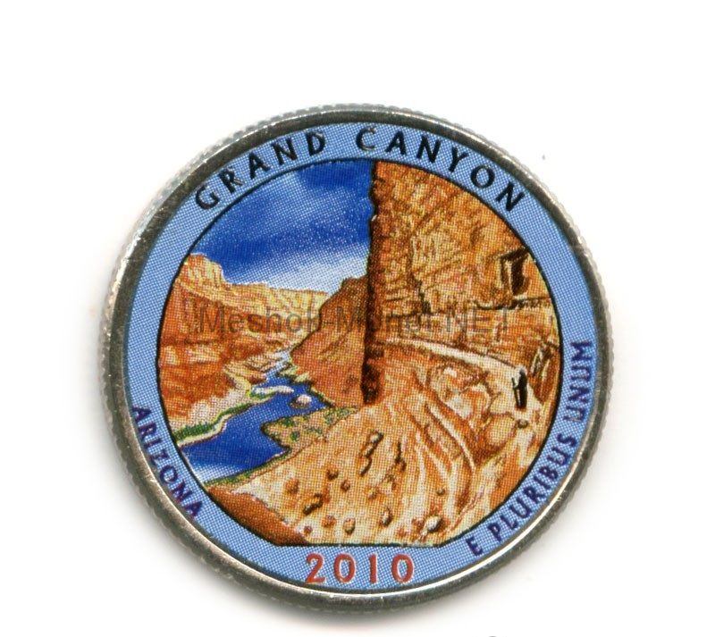 25 центов 2010, США, Гранд Коньён