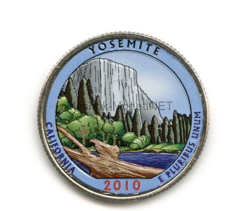 25 центов 2010, США, Йосемит
