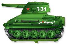 Шар гелиевый ТАНК T-34
