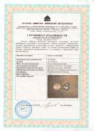 Метеорит Сихотэ-Алинь с сертификатом.