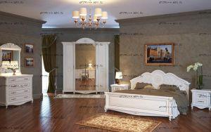 Спальня Да Винчи МДФ №2