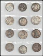Лист с 12 монетами царского периода. Шикарные копии! №2