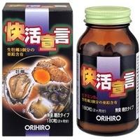 Orihiro Экстракт устриц, мидии, куркума и чеснок на 60 дней.