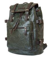 Кожаный рюкзак Carlo Gattini Volturno green/brown