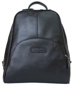 Женский кожаный рюкзак Carlo Gattini Estense black