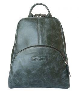 Женский кожаный рюкзак Carlo Gattini Estense green