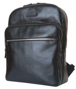 Кожаный рюкзак для ноутбука Carlo Gattini Monferrato black