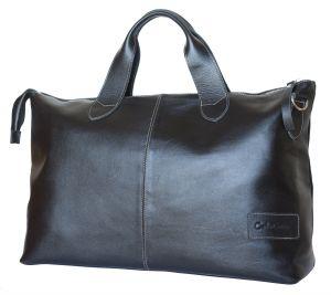 Кожаная дорожная сумка Carlo Gattini Cassolo black