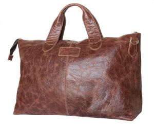 Кожаная дорожная сумка Carlo Gattini Cassolo brown