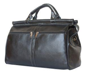 Кожаный саквояж Carlo Gattini Veano black