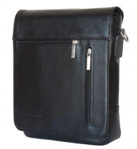Кожаная мужская сумка Carlo Gattini Oscano black