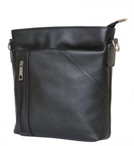 Кожаная мужская сумка Carlo Gattini Lonato black