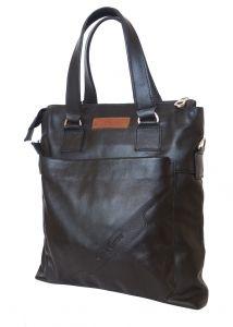 Кожаная мужская сумка Carlo Gattini Vilotta black