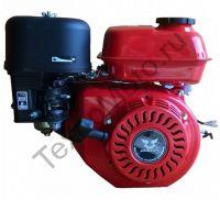 Zongshen (Зонгшен) ZS 168 FB-6 четырехтактный бензиновый китайский двигатель с понижающим редуктром 1/2, мощностью 6,5 л.с., диаметр вала 22,0 мм.