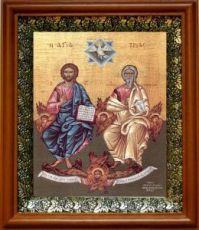Новозаветная Троица (Сопрестолие), светлый киот