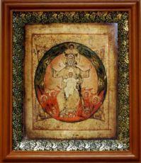 Новозаветная Троица (Отечество), светлый киот
