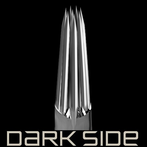 Dark Side Round Liners 0.35 Long Taper 5 шт