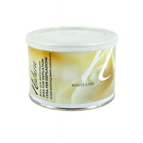 Воск White Line Natura (Италия) 400гр - Белый шоколад