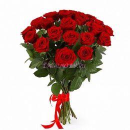 Букет 39 красная роза